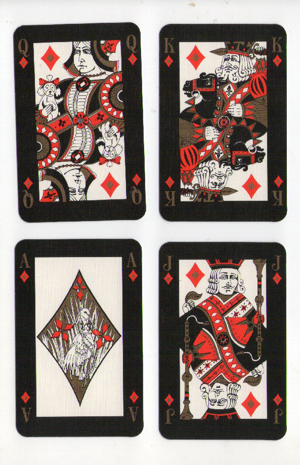 Collectible Playing Cards By Players Cigarette